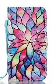 Funda Para Samsung Galaxy Cartera Soporte de Coche con Soporte Flip Diseños Magnética Cuerpo Entero Flor Dura Cuero Sintético para J7