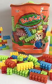 GDS-set Byggklossar Leksaker Djur Tecknat Djur Form tecknad Shaped Djur Familj Handväskor Tecknade leksaker GDS (Gör det själv) Tecknad