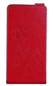 Etui Til Nokia Lumia 640 Lumia 535 Pung Kortholder Med stativ Flip Magnetisk Præget Mønster Heldækkende Blomst Hårdt Kunstlæder for Nokia