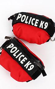 Cachorro mochila Roupas para Cães Couro de Lona Inverno Primavera/Outono Casual Carta e Número Preto Laranja Vermelho Verde Azul Ocasiões