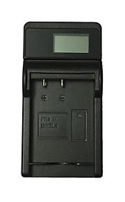 Ismartdigi EL8 LCD USB Camera Battery Charger for Nikon EL8 EN-EL8 Battery - Black