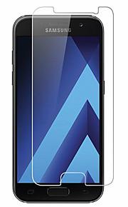 화면 보호기 용 Samsung Galaxy A7 (2017) 안정된 유리 1개 화면 보호 필름 고해상도 (HD) 9H강화 2.5D커브 엣지
