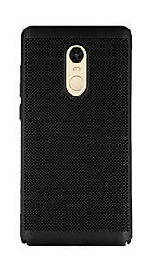 Etui Til Xiaomi Redmi Note 4X Redmi 4X Syrematteret Bagcover Helfarve Hårdt PC for Xiaomi Redmi Note 4X Xiaomi Redmi 4X Xiaomi Redmi 4a