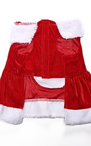 Hund Mäntel Hundekleidung Stilvoll Weihnachten Rot Kostüm Für Haustiere