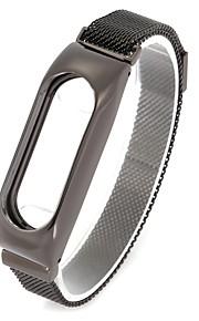Aço Inoxidável Pulseiras de Relógio Alça Preta 20cm / 7.9 Polegadas 1.4cm / 0.55 Polegadas