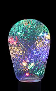 ywxlight® e27 1.5w 24led 7.0 rgb ledet lysstrøkkelpære baller for ferie dekorasjon ac 85-265v