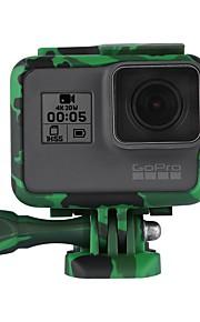 Antichoc Cadre standard Extérieur Antichoc Résistant aux chocs Case antichoc Pour Caméra d'action Gopro 6 Gopro 5 Camping / Randonnée