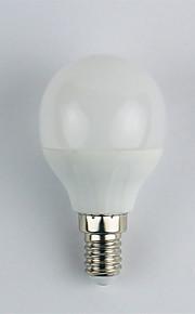 1pc 4W E14 LED-globepærer G45 6 leds SMD 3528 Kjølig hvit 325lm 6400K AC 110-240V