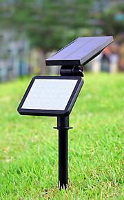 1pc 4.5W Soldrevne LED-lamper Dekorativ Utendørsbelysning Naturlig hvit <5
