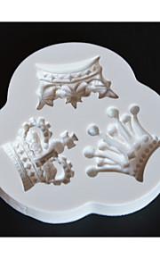 Cake Moulds Til Småkake Sjokolade For kjøkkenutstyr Til Sjokolade Til Kake Til Småkaker Silikon Gummi Non-Stick baking Tool 3D Høy