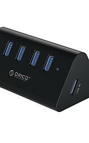 4 Ports USB Hub USB 3.0 Input Protection High Speed Data Hub