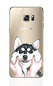 מגן עבור Samsung Galaxy S8 Plus S8 תבנית כיסוי אחורי כלב רך TPU ל S8 Plus S8 S7 edge S7 S6 edge plus S6 edge S6