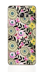 Custodia Per Samsung Galaxy S8 Plus S8 Fantasia/disegno Per retro Fiore decorativo Morbido TPU per S8 Plus S8 S7 edge S7 S6 edge plus S6