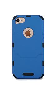 hoesje Voor Apple iPhone 6 iPhone 7 Ultradun Volledig hoesje Effen Kleur Hard TPU voor iPhone 8 Plus iPhone 8