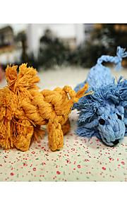 Hundleksak Husdjursleksaker Tuggleksaker Rep Snöre För husdjur