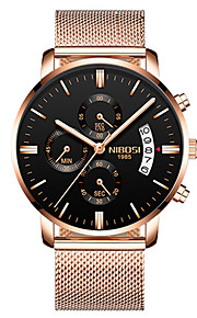 Homens Relógio Casual Relógio de Moda Relógio Elegante Chinês Quartzo Calendário Cronógrafo Impermeável Luminoso Noctilucente Relógio