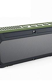 CRDC Bluetooth-højttaler Bluetooth 4.0 3.5mm AUX Højtalere Til Udendørsbrug Grøn Sort