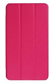 7 inch solide kleuren pu lederen tas voor acer iconia one b1-790