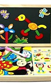 Speelgoed tekentablets Houten puzzels Kunst & Tekenspeelgoed Speeltjes Vlak Rechthoekig Mode Beroemd School/Afstuderen School Handheld