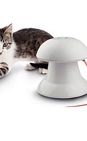 katt leksak hund leksak husdjur leksaker laser leksak variabel hastighet kontroll 360 ° rotation plast för husdjur