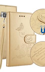 Custodia Per Samsung Galaxy S8 Plus S8 Porta-carte di credito A portafoglio Con supporto Con chiusura magnetica Decorazioni in rilievo