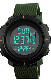 Homens Crianças Relógio Esportivo Relógio de Moda Relógio Casual Japanês Digital Calendário Impermeável Dois Fusos Horários Noctilucente
