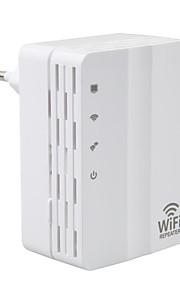 광고 -607u 300m 사무실 가정 무선 네트워크 중계기 wifi 신호 증폭기 유럽 플러그