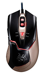 Chasing Panther V15 Wired USB Interface Game Mouse 6 Button Adjustable DPI
