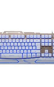 jagen panther g500 bedrade usb-interface spel toetsenbord ondersteuning voor achtergrondverlichting waterdicht
