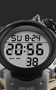SKMEI Herr Barn Modeklocka Sportsklocka Vardaglig klocka Kinesiska Digital Kalender Vattenavvisande Vardaglig klocka Bakgrundsbelysning