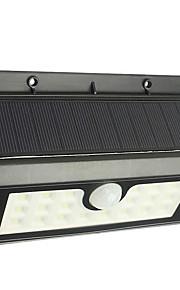 1szt 1W Lampy LED na energię słoneczną Czujnik podczerwieni Wodoodporne Dekoracyjna Kontrola światła Oświetlenie zwenętrzne Zimna biel <5V
