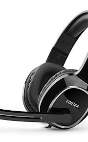 EDIFIER K815 머리띠 유선 헤드폰 동적 플라스틱 게임 이어폰 마이크 포함 헤드폰