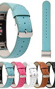 Watch Band na Fitbit Charge 2 Fitbit Klasyczna klamra Prawdziwa skóra Opaska na nadgarstek