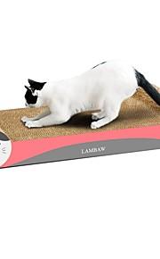 猫用おもちゃ ペット用おもちゃ スクラッチアート 紙、ペーパークラフト アートプリント 多色 スクラッチマット 体重を減らす 高品質紙 キャットニップ 段ボール紙 ペット用