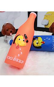 Kat Hund Kæledyrslegetøj Elastisk Pibe-Legetøj Lyd Tegneserie Toy Andet materiale For kæledyr