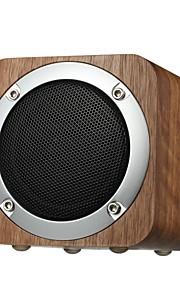 IXB-B06 Bluetooth högtalare Bluetooth 4.0 3,5 mm AUX TF-Kortplats Bokhyllehögtalare Subbas Brun