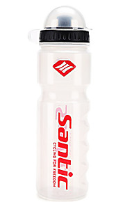 Sports Water Bottle Portable, Wearable Road Cycling / Recreational Cycling / Cycling / Bike Poly White - 1 pcs
