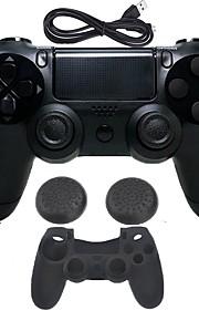 for PS4 Langaton Bluetooth 3.0 Laturi ja adapteri - Sony PS4 0 Laturilla Pelikahva Langaton salamavalosäätö Tärinä > 480