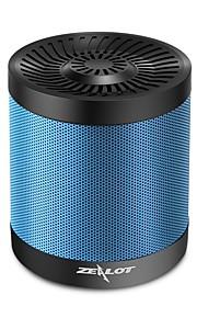 S5 Utomhus Bluetooth högtalare Ministil Bluetooth Bluetooth 4.0 Audio (3.5 mm) 1 x USB TF-Kortplats Bokhyllehögtalare Subbas Svart
