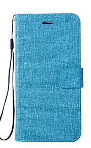 Custodia Per Motorola G5 G5 Plus Porta-carte di credito A portafoglio Con supporto Con chiusura magnetica Integrale Tinta unica Resistente