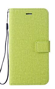 Custodia Per Xiaomi Redmi Nota 5A Nota Redmi 4 Porta-carte di credito A portafoglio Con supporto Con chiusura magnetica Integrale Tinta