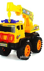 Toy Car Backhoe Loader Toys Square Holiday Classic PVC / Vinyl All 1pcs Pieces