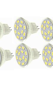 SENCART 6pcs 6W 450 lm G4 MR11 LED-spotpærer MR11 12 leds SMD 5730 Dekorativ Varm hvit Kjølig hvit 12-24V