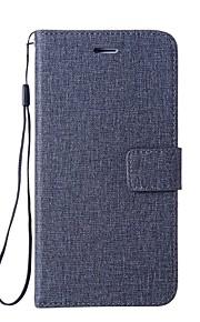 Custodia Per Huawei Y5 II / Honor 5 Porta-carte di credito A portafoglio Con supporto Con chiusura magnetica Integrale Tinta unica