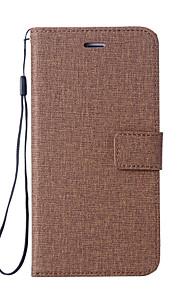 Custodia Per Nokia Nokia 8 Nokia 6 Porta-carte di credito A portafoglio Con supporto Con chiusura magnetica Integrale Tinta unica