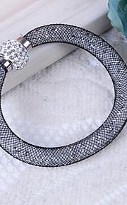 Damskie Bransoletki bangle Syntetyczny diament Rhinestone Na co dzień Podstawowy Żywica Plastikowy Imitacja diamentu Tube Shape Biżuteria