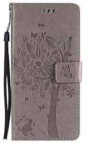 Custodia Per Motorola C plus C Porta-carte di credito A portafoglio Con supporto Con chiusura magnetica Fantasia/disegno Integrale Gatto