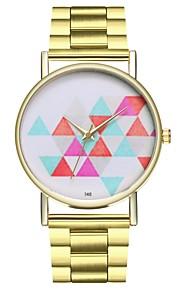 Homens Mulheres Relógio de Moda Relógio Casual Chinês Quartzo Cronógrafo Punk Relógio Casual Aço Inoxidável Banda Criativo Minimalista