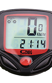SD-548A Bike Computer/Bicycle Computer Stopwatch Waterproof Backlight LCD Display Speedometer Elapsed Time Wired Multi-function Freeze