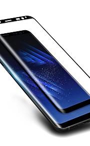 Proteggi Schermo Samsung Galaxy per S8 Vetro temperato 1 pezzo Proteggi-schermo frontale Estremità angolare a 3D Anti-graffi A prova di